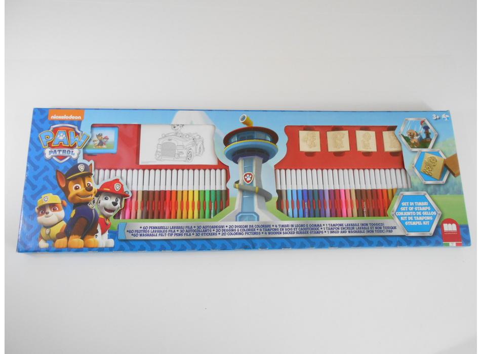 Set Coloriage Pat Patrouille Nickelodeon Autres Mon Petit Doudou